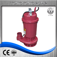 WQ electric single phase water submersible sewage dirty water pump