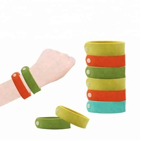 100% Essential oil anti mosquito band bug pest repellent wristband bracelet