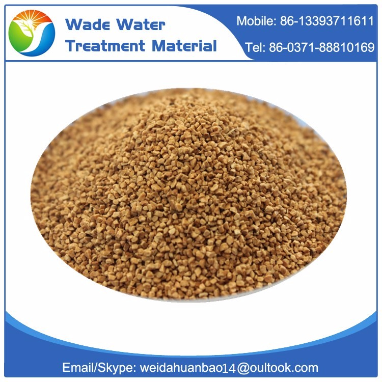 Natural dry walnut shell abrasive grits