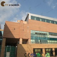 commerial used weather resistant interlocking exterior wall panels
