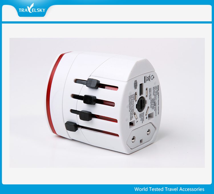 International Travel Protable Universal World USB Travel Adapter