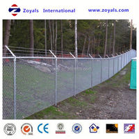 playground galvanized chain link fence netting (ISO Factory & Exporter)