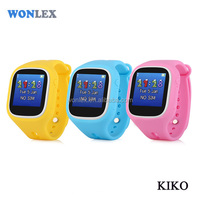 2017 Best Wonlex Brand Touch smart watch for kids free cell phone gps tracking on line