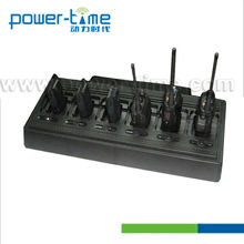 two-way radio 6-way charger PTC-2008-328 with 6pcs AP328 cups for GP320,GP-340,GP-380/GP-328plus.