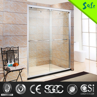 Invisible aluminum frame profile sliding shower door seal sliding shower door seal