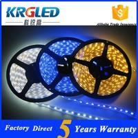 addressable rgb flexible waterproof 24 volt 6v 5050 led strip light rgb 12v connector