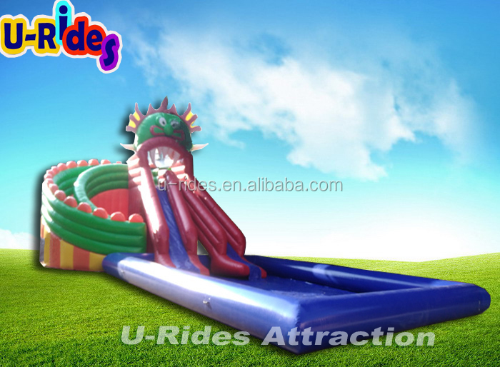 Giant Inflatable Water Games For Adult For Land Using Inflatable Commercial Water Park