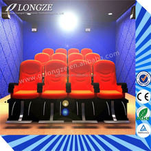 Exhibition 6Dof 6D Motion Chair Electrical Hydraulic Mobile Simulator Hot Sale 5D Theater 3D 4D 5D Cinema