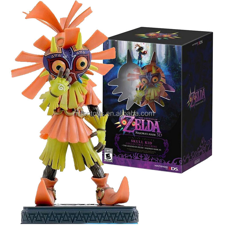 Nintendo Greezo The Legend of Zelda Majoras Mask 3D 3DS Skull Kid Link Action Figure Collectible Figurine Everyone 10+ ESRB