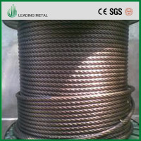 Alibaba China Cheap price Galvanized steel cable wire rope