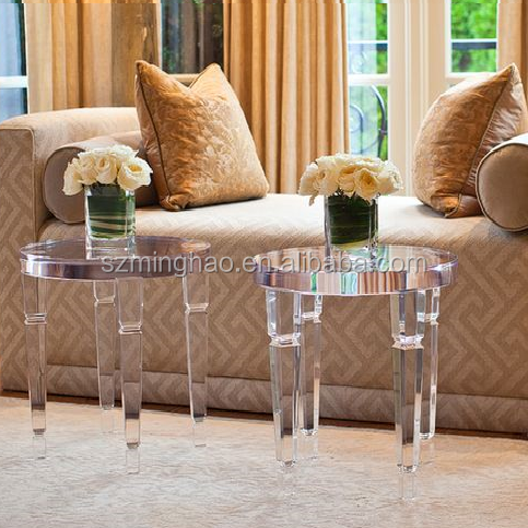 Small center table acrylic coffee table