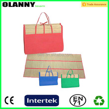 colorful retail price fashion foldable beach mat