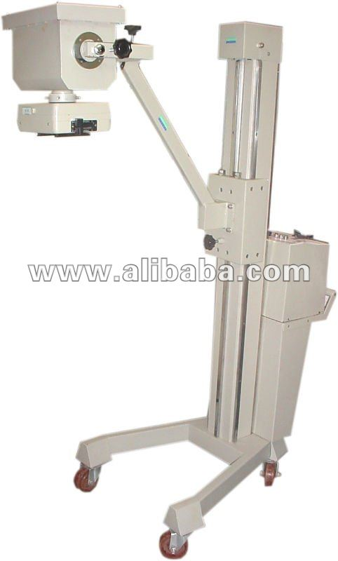 Mobile X Ray machine with wheels