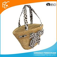 Factory Design Paper Straw Hand Bags Beach Bag Good Price