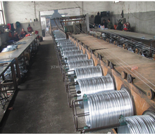 Low price electro galvanized iron wire/unit weight of iron wire