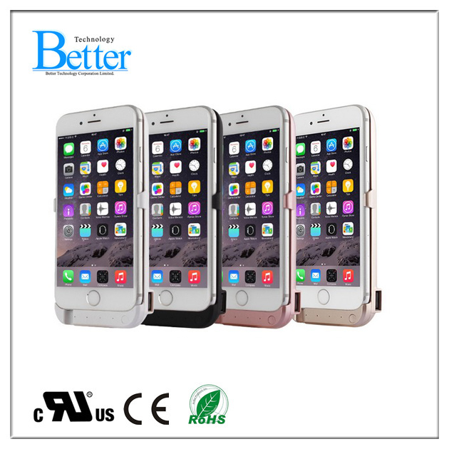 4200mah Ultra slim power bank battery charger case for iphone 6s