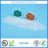 Flame retardant plastic raw material for injection PC ABS plastic pellets for copying