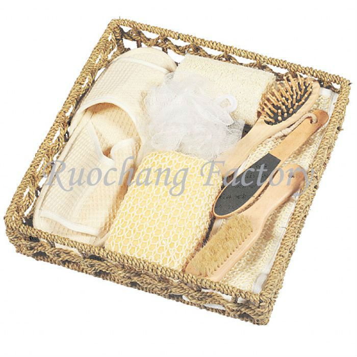 Basket Series body gift set/bath product/spa bath set for promotional