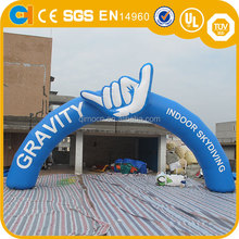 Customized Logo Inflatable Blue Arch, Inflatable archway with logo, advertising inflatable archway