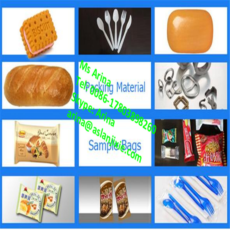 Automatic small plastic spoon/ lollipop /cakes/biscuits fast speed packing machinery/ pillow type packaging equipment