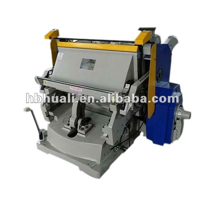flat board creasing and die cutting machine for carton box and paper box
