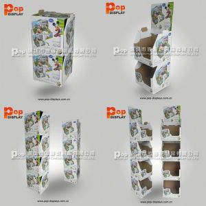 mutil-functional pesticide template cardboard display box