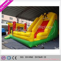 Above Ground PVC Commercial Giant Inflatable Bouncy Slide