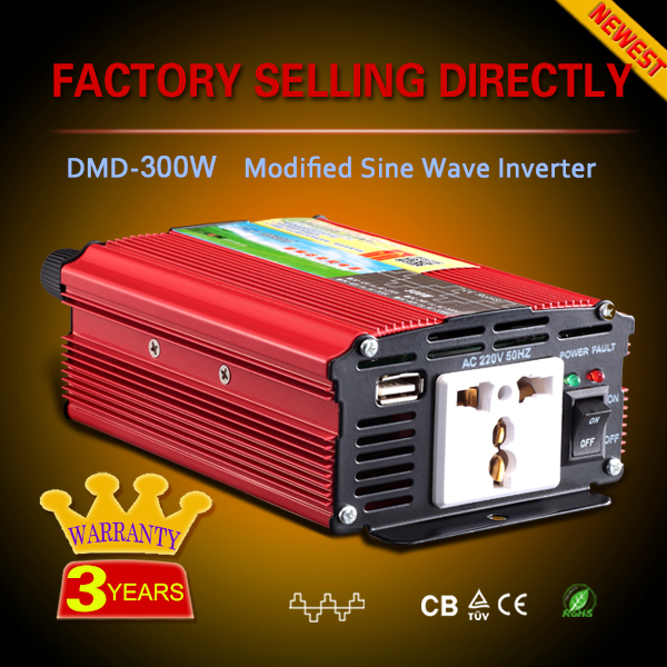 modified sine wave dc ac single phase converter 300w 500w 1000w 2000w 3000w 12v 24v 36v 48v to 220v 50/60hz
