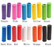 New colors bike accessories silicone grip Colorful Rubber Available Bicycle Handlebar Grips