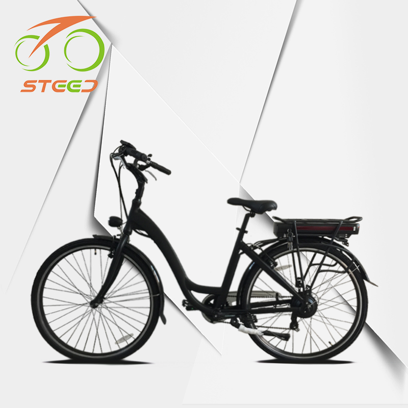 Vintage style 250w brushless motor electric city bicycle e bike china made