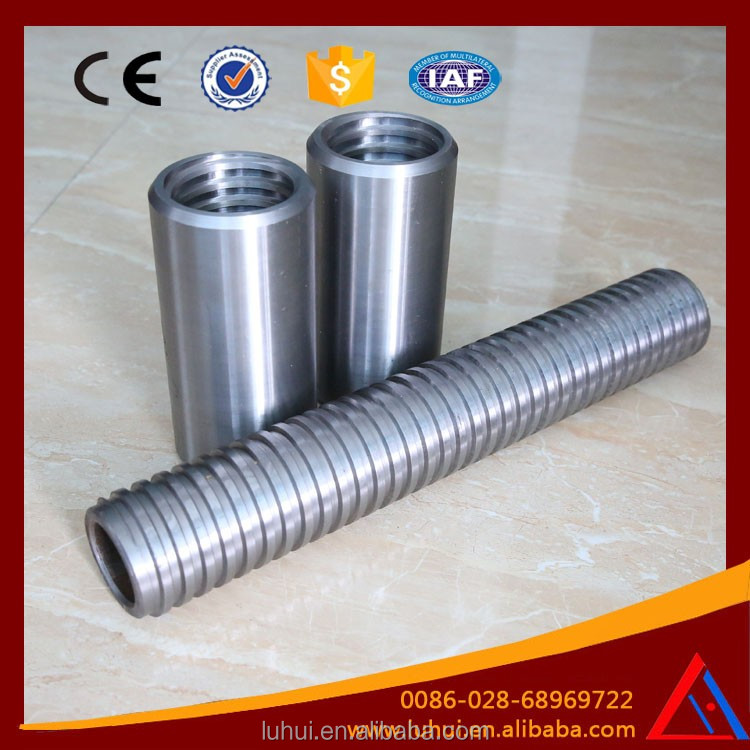 LUHUI high strength self drilling ground anchor rock bolt
