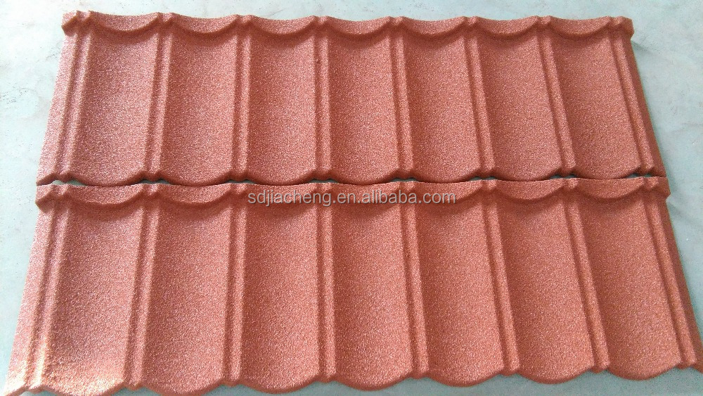 Made in china Stone Coated Metal Roof Tile ,fiberglass spanish roofing tiles