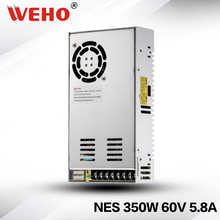 NES-350-60 smps high voltage for laser machine variable power supply 350w 60v