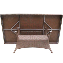 Rattan Dining Table for 6 people