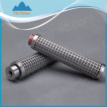 High Flow Rate Multi Stainless Steel Filter Cartridge