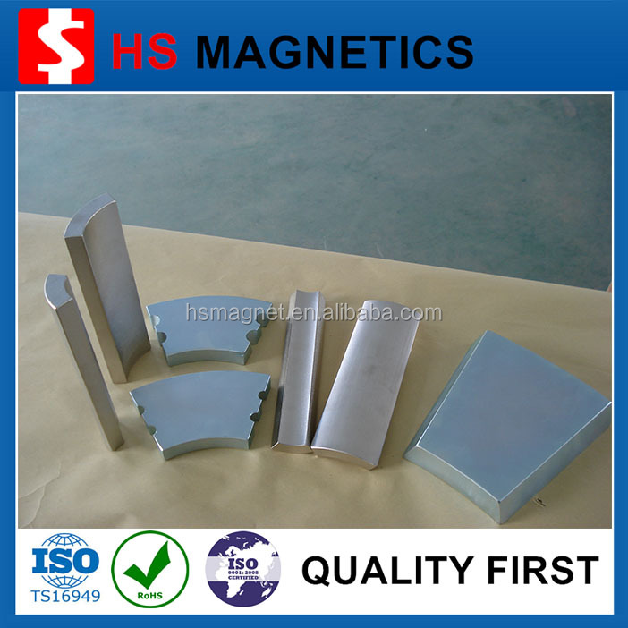 Super Strong Motor N52 Permanent Neodymium Magnets Manufacturer For Sale