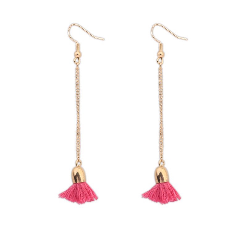 7561 Fashion Jewelry Elegant Tassel Long Earrings for Women