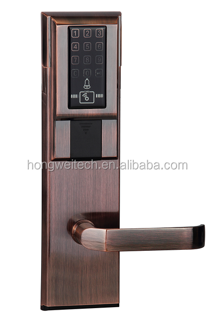 Intelligent Fingerprint Door lock with OLED Display /European style/factory price