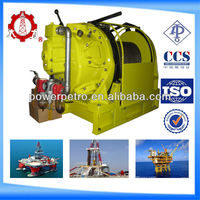 ISO supplier 10 ton heavy duty pneumatic air winch tugger with air cylinder brake and hand brake