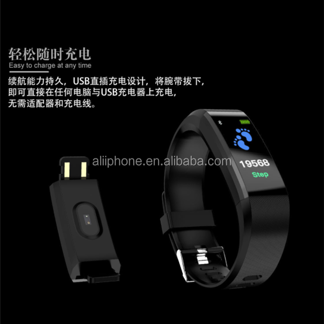 Cheap price smart phone watch for D115 plus sim card smart watch