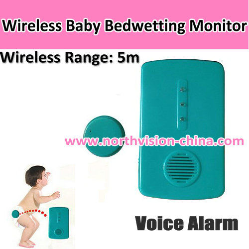 Hot selling bed wetting alarms with adjusted 3 types alarm voice
