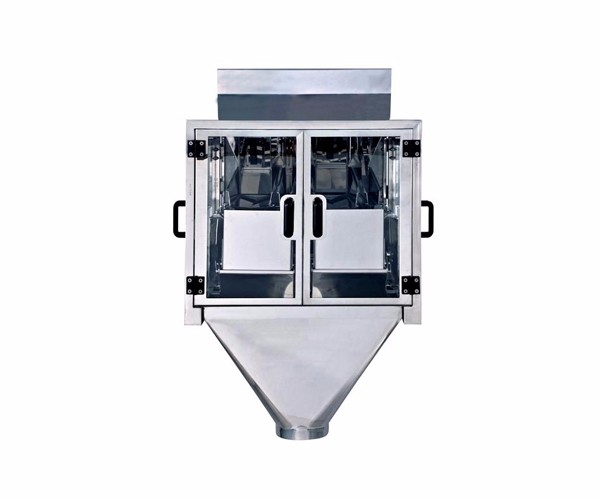 China high quality oatmeal modular weighing machine for 15L 2 head linear weigher with CE certification and high accuracy
