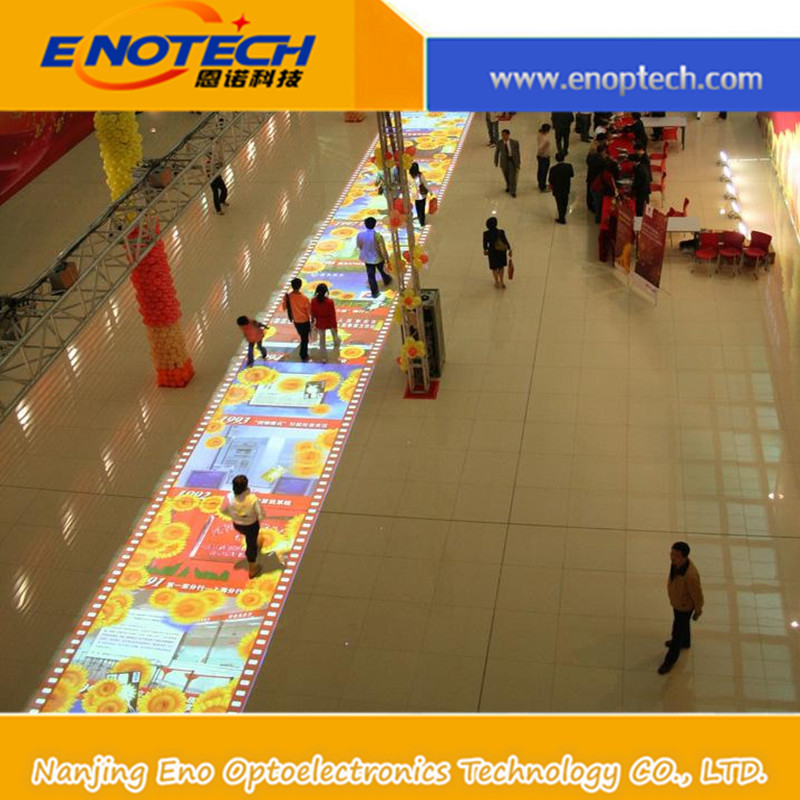 Interactive floor/wall display for advertising , entertainment, wedding, event,education