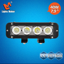 Good selling models with cheap price 40w led bar light, 4x4 led truck driving light 40w, auto led car parts 4WD accessories