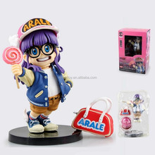 Japan anime figure Scultres Big Dragon ball Arale 13cm toy action figure