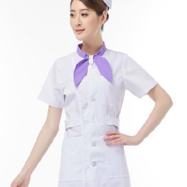 Uniforme De Enfermería Blanca Sexy Online Uniforme