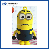 5200mAh Minions Design Cartoon Mobile Power Bank for all Mobile Phone