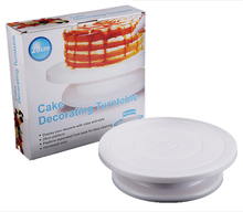 cake decorating tools turntable wheel revolving rotating cake stand