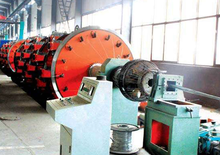 factory high quality steel wire and steel tape armour cable machine in cable making equipment