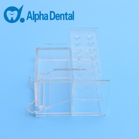 Dental Acrylic Transparent Resin Placing Rack